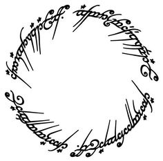 Lord of The Rings  Vinyl Decal Sticker For Car by thevinylwall, $10.00