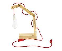 Luminária Simple Vermelha - 110V