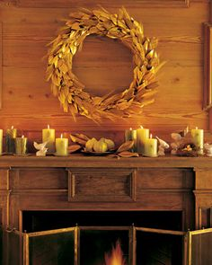 Martha Stewart .com feather wreath