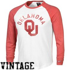 Tailgate Clothing Co. OU Sooners Baseball Raglan Long Sleeve T-Shirt. Watch the Sooner Gift Guide show airings on 11/23 at 10p & 11/25 at 3p on Fox Sports OK & 11/29 at 9p on Fox Sports Southwest for exclusive discounts on this product! #soonergiftguide