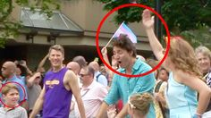 Canadian Prime Minister Justin Trudeau Got Smacked.... Vancouver Pride P...