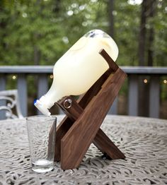 Wood Beer Growler Stand | Home Dining & Barware | Tilnic Creations | Scoutmob Shoppe | Product Detail