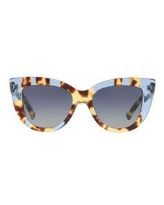 fbac4e977831 Valentino Acetate Cat-Eye Sunglasses