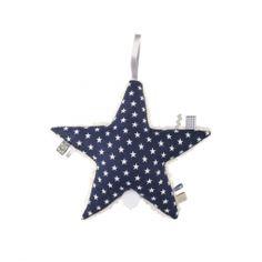 LOTTAS LABLE - Spieluhr Aloha Aris Star dunkelblau