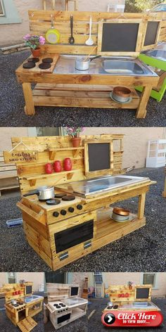 lavish Pallet Wooden Project Ideas for a Tranquil Life pallet wood outdoor kitchen idea