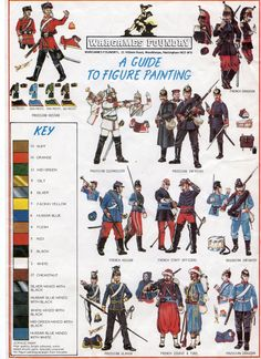 Franco-Prussian War Uniforms, the second part of a painting guide produced by the Perry Brothers.