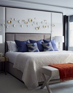 Outstanding Decorating Ideas by Taylor Howes! Interior design ideas Interior design tips  Modern Bedroom Ideas #homedecorideas #modernbedoomdesign #luxuryinteriordesign Find more in: https://www.brabbu.com/en/inspiration-and-ideas/