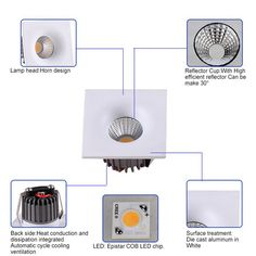 2400-2800LM Recessed 30W LED Downlight COB Lighting in Egypt  I  See more: https://www.jiyilight.com/downlight/2400-2800lm-recessed-30w-led-downlight-cob-lighting-in-egypt.html