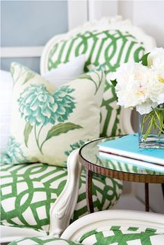 love the chair,pillow,wall color, and table.