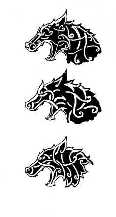 Celtic/viking wolf tattoo design on my chest? Fenrir Tattoo, Norse Tattoo, Celtic Tattoos, Viking Tattoos, Celtic Wolf Tattoo, Axe Tattoo, Viking Tattoo Symbol, Wolf Tattoos, Animal Tattoos