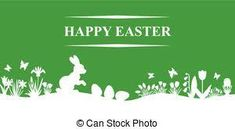 Image result for happy easter silhouette