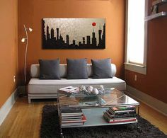 An Oil Painting can make a difference to the space.