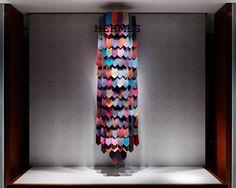 Hermés window display by Torafu Architects, Tokyo visual merchandising