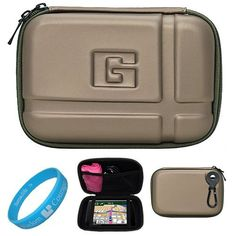 Gun Metal Durable 52inch Protective GPS Carrying Case with Removable Carbineer for Garmin nuvi 1300  1370T  1490T  1350LMT  1450LMT  1390LMT  1390T  1350T  1390LMT  1490LMT  1450T  3760T  3760LMT  3790T  3790LMT  2360LMT  2370LT  2350  2460LT  2460LMT  2450  2450LM  1350LMT  2300  3450  2455LT Portable GPS Navigator  SumacLife TM Wisdom Courage Wristband -- Click on the image for additional details.Note:It is affiliate link to Amazon.