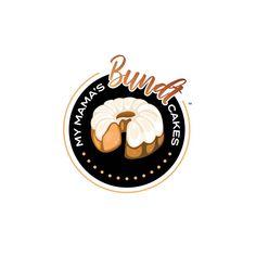 Logo Design for My Mama's Bundt Cakes, designed by Daymond & Co. Creative - Daymond E. Lavine aka Daymond the Brand Cake Logo, Best Logo Design, Bundt Cakes, Creative Logo, Web Development, Branding, Brand Management, Best Logo, Identity Branding