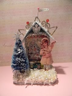 Artful Curiosities: Christmas Cheer Tin Swap