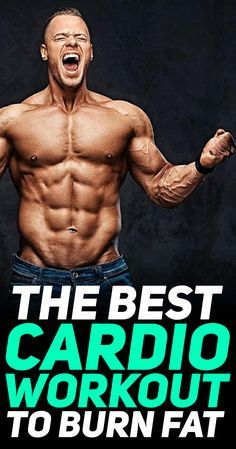 Find out what is the best cardio workout to burn fat! #fitness #gym #exercise #workout #cardio #hiit #tabata #exercises