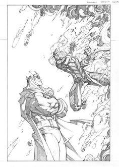 Inhumans #6 variant cover by Joe Madureira *