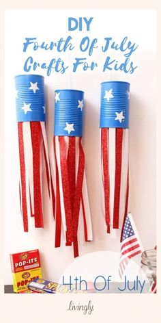 Summer is the perfect time to head out to those picnic tables and get crafting with your kids. Check out these adorable Fourth of July projects for inspiration!
