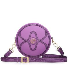 Oh my!  I love PURPLE!  Such a cute little crossbody purse.  #purse #purple #crossbody #bag #handbag #fashion #affiliate #sale #style