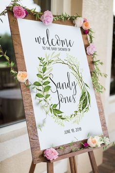 Nature Welcome Sign (DIY Print)