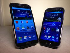 Samsung Galaxy Note 2 vs. Samsung Galaxy S3 Review