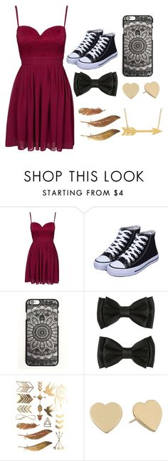 """Untitled #157"" by hope-257 ❤ liked on Polyvore featuring Elise Ryan and Kate Spade"