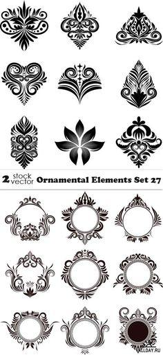 Vectors - Ornamental Elements Set 27