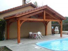 appenti en bois auvent 1 pan 3 m abris bois. Black Bedroom Furniture Sets. Home Design Ideas