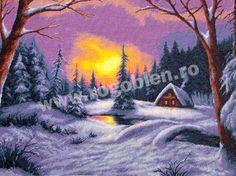 Cod produs 6.46 Feerie de iarna Culori: 22 Dimensiune: 30 x 40cm Pret: 73.66 lei Mandala, Snow, Painting, Outdoor, Punto De Cruz, Dots, Embroidery, Outdoors, Painting Art