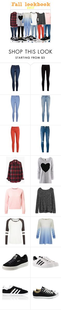 """""""Aloha Poly School"""" by abikaj ❤ liked on Polyvore featuring Topshop, Gucci, New Look, Givenchy, Frame, Madewell, Gap, Superdry, Joie and Puma"""