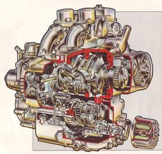 goldwing engine schematic - Google Search