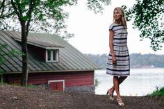 Stripy Estelle Dress