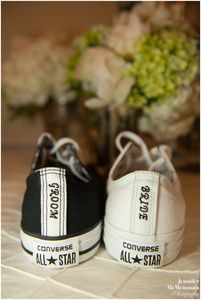 His and Her Converse Sneakers