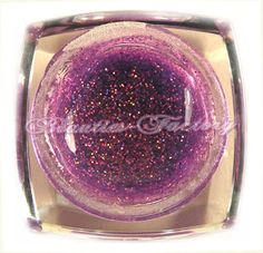 Purple Glitter UV Gel