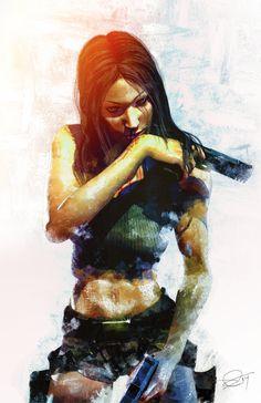 Lara Croft by DanielMurrayART.deviantart.com on @deviantART