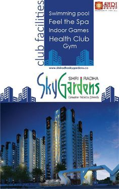 #SHRI Group  SHRI Radha Sky Garden provides you all #facilities at one place.  visit: www.shriradhaskygarden.co Call us at: +91 9911553327