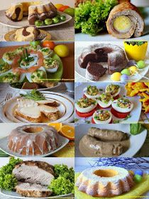 Moje Kuchenne Rewelacje : WIELKANOC Easter Dinner, Easter Food, Calzone, Easter Recipes, Taste Buds, Baked Potato, Sausage, Food And Drink, Mexican