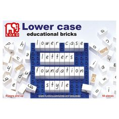 Coko Lower Case Educational Bricks – Notes From a Home Educator