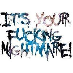 Avenged Sevenfold lyrics. Nightmares.....