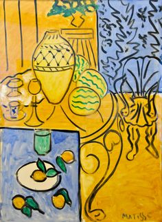Henri Matisse - Interieur jaune et bleu, 1946 at Centre Pompidou Paris France | by mbell1975