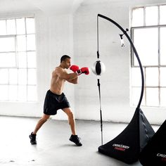 Say goodbye to the boring, mindless and ineffective cardio machines of the past and join the movement to the modern workout, Cross Body Trainer powered by Nexersys. Cross Body Trainer is an interactive, free standing Double End Bag that delivers a Fast, Fun and Effective HIIT workout. The Cross Body Trainer enables you to use your tablet or smart phone as your personal trainer through the Cross Body Trainer App that delivers dynamic, personal training for the first time or expert striker…