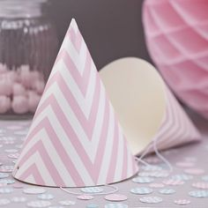 I've just found Pink Chevron Party Hats. A pack of 8 chevron pink party hats, great for any party!. £2.99