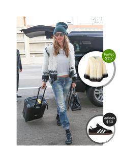 Behati Prinsloo at LAX airport - seen in adidas. #adidas  #behatiprinsloo @dejamoda