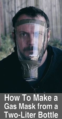 How To Make a Gas Mask From a Two-Liter Bottle. In this video, Black Scout Survival makes a gas mask with a bottle, a can, rubber bands, cotton rounds, duct tape, medical tape, and activated charcoal. #Urbansurvivalsite #DIY #Makeagasmask #Maskgas #Survival