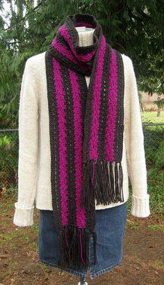 #Crochet #Scarf crochet scarf@Lynne Harwood