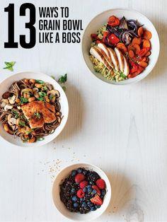 13 Ways to Serve Up a Grain Bowl