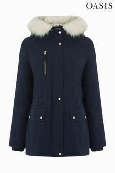 An extremely warm coat that you may not have to even have to wear a scarf with!