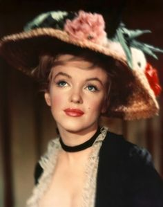Marilyn Monroe, 1957.