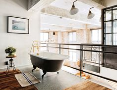 David Karp - Loft New York Salle de Bain